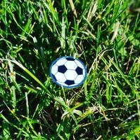 Значок Футбольный мяч