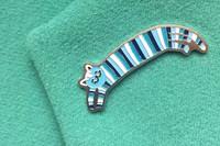 Значок Кот полосатый